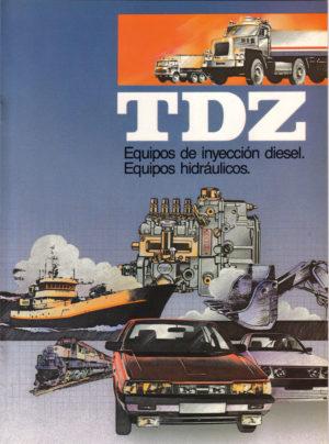 Portada de catálogo años 80